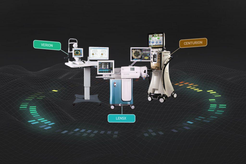백내장 CRS 시스템, 백내장 수술 과정